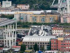 Snelwegbrug in Genua ingestort, 30 doden