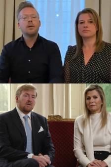 Horecaondernemer parodieert de koning: 'Onze reis naar Maastricht heeft hevige reacties opgeroepen'