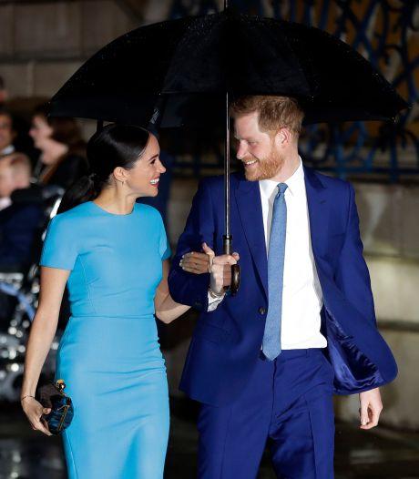 Harry et Meghan font une apparition surprise par visioconférence