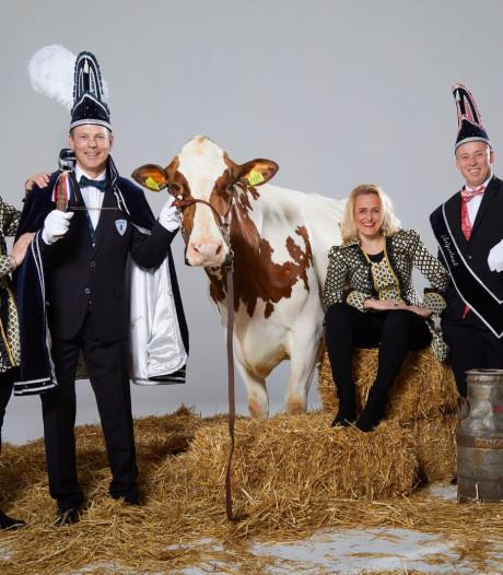 Dit zijn de hoogheden die carnaval in Bornerbroek leiden