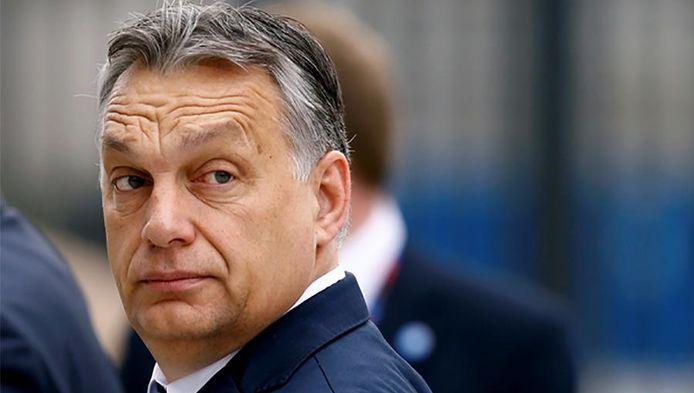 De Hongaarse premier Viktor Orban