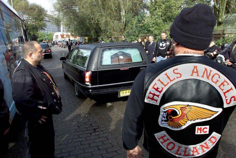 Beeld van de begrafenis van Sam Klepper Beeld anp
