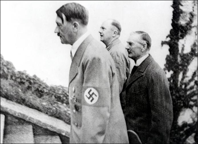 Foto van Adolf Hitler ter illustratie.