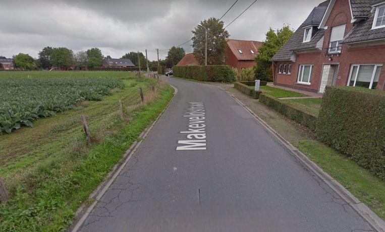 Het ongeval vond plaats in de Makeveldstraat.