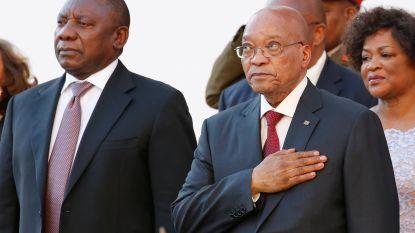 Dagen Jacob Zuma (75) zijn geteld