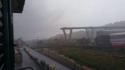 Hallucinante beelden: snelwegbrug in Genua stort in, vrees voor slachtoffers