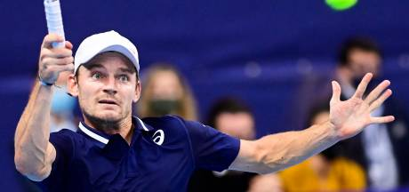 David Goffin sorti d'entrée à l'European Open