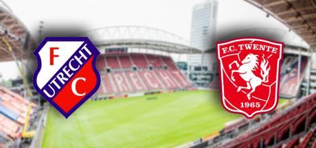 LIVE   FC Utrecht en FC Twente doen niets voor elkaar onder in openingsfase