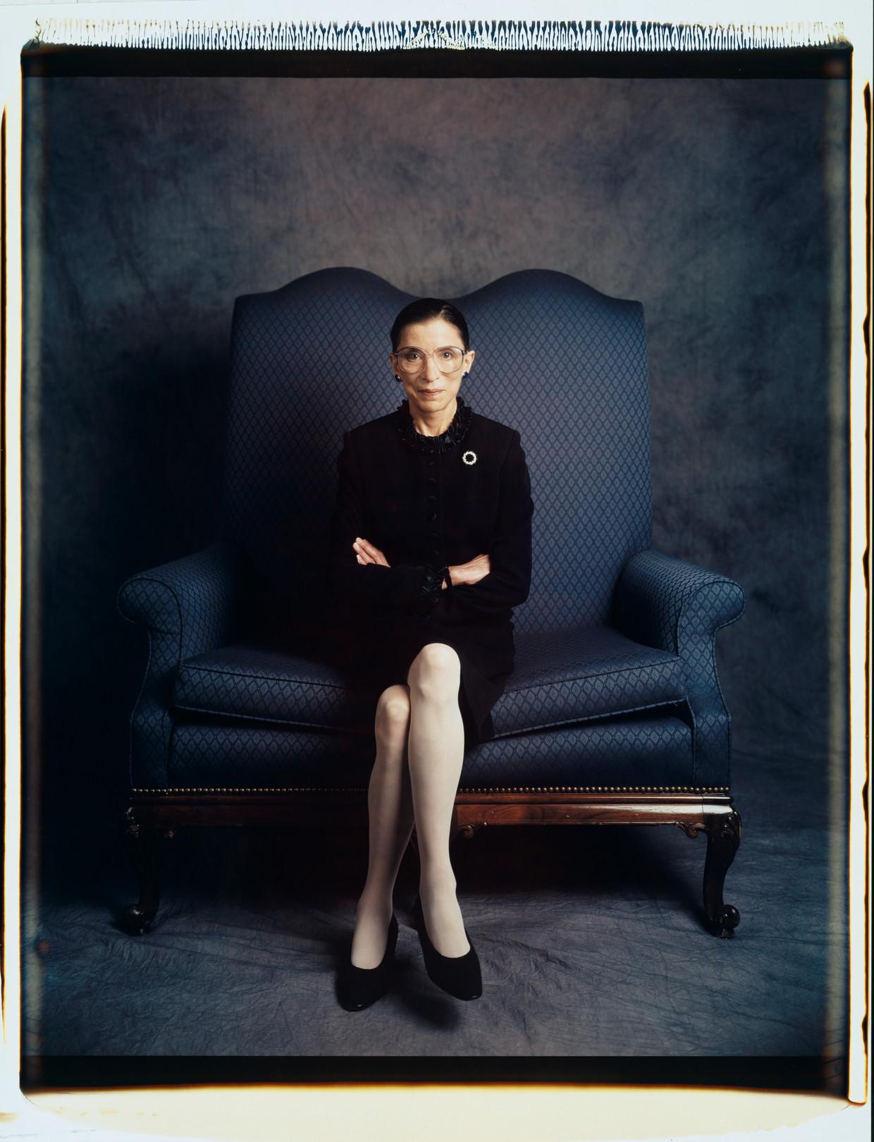 Ruth Bader Ginsburg in 1997. Beeld Contour RA