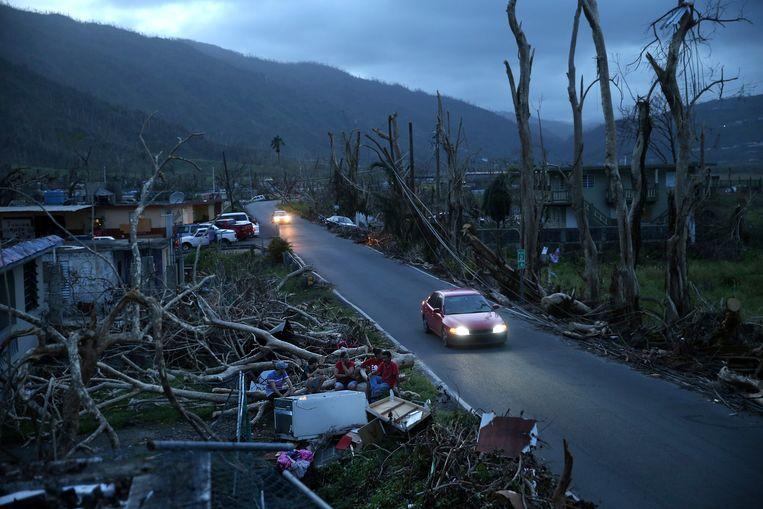 Puerto Rico werd in 2017 zwaar getroffen door orkaan Maria.