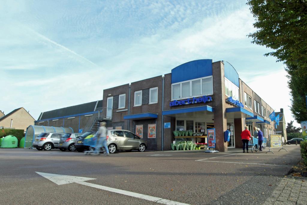 De huidige Albert Heijn in Schaijk gaat plaatsmaken voor woningbouw.