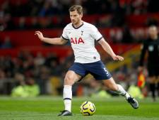 Jan Vertonghen prolonge jusqu'au terme de la saison avec Tottenham