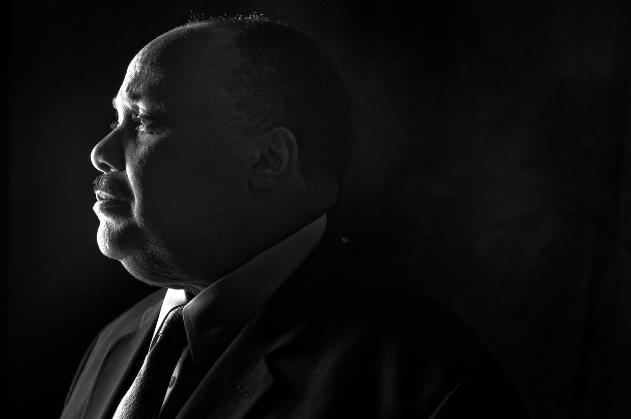Martin Luther King III, zoon van Martin Luther King, Jr..