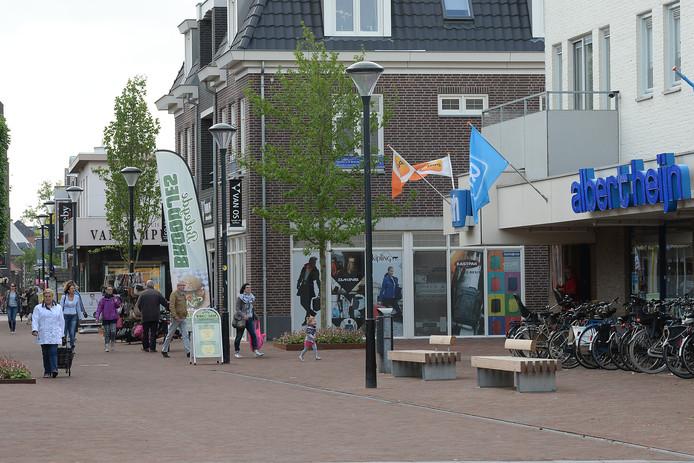 Albert Heijn zit nu nog aan de Steenstraat in Boxmeer.