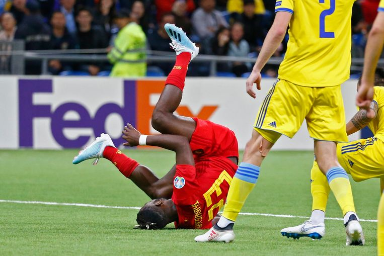Batshuayi speelde geen goeie match tegen Kazachstan, maar scoorde wel.