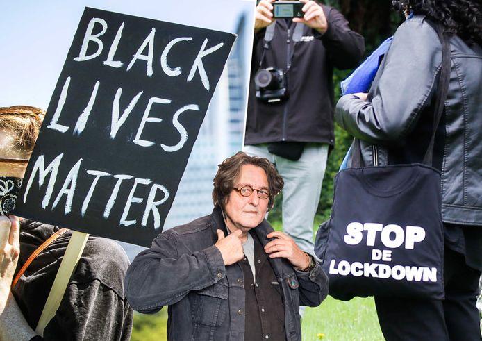 Kees Thies over demonstraties in Dordrecht.
