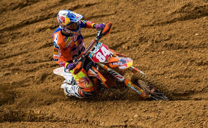 Jeffrey Herlings tijdens de MXGP van Portugal.