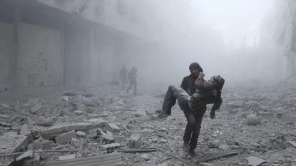 Russische luchtaanvallen eisen levens van 23 burgers bij Damascus