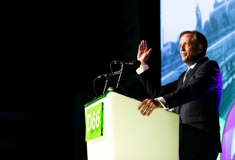 D66-leider Alexander Pechtold maakte zaterdag bekent dat hij opstapt als fractievoorzitter van D66.  Beeld ANP