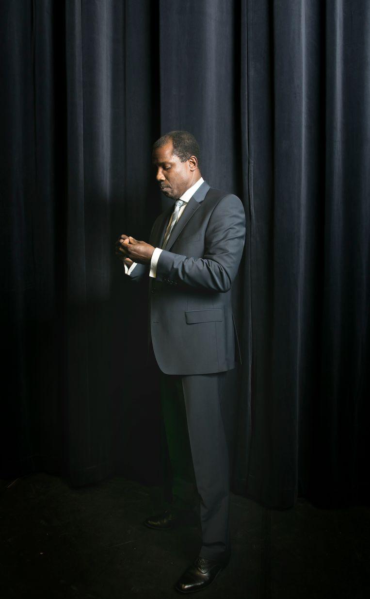 Portret Dennis Rudge, acteur, speelt Martin Luther King in The Mountain Top. Beeld Judith Jockel