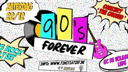 TiniTiaTief organiseert 90's happening in GC De Volkskring