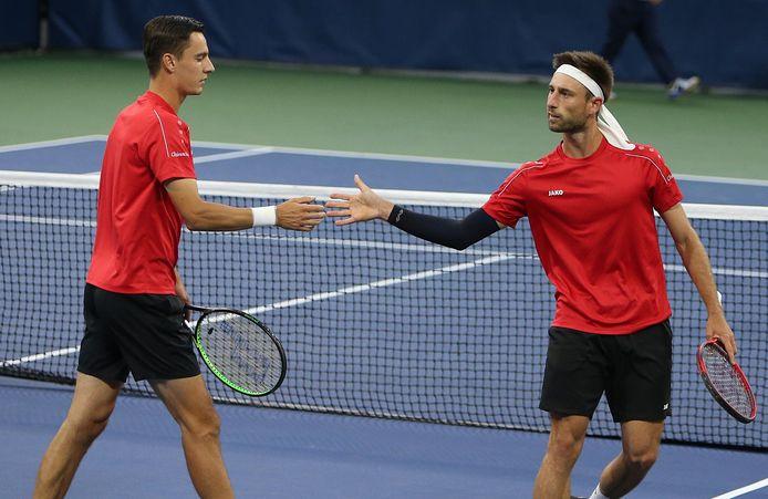 Direction les demi-finales pour Sander Gillé et Joran Vliegen à l'European Open.