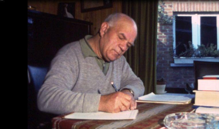 De inmiddels overleden tekstschrijver Emile Jordens