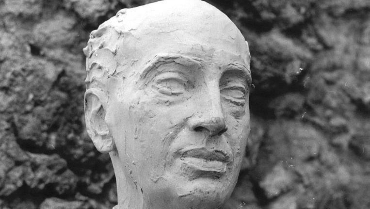 Borstbeeld van Louis Couperus, schrijver van 'De binocle'. Beeld anp