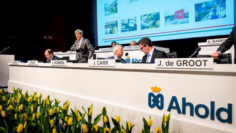 Raad van Commissarissen van Ahold Beeld anp