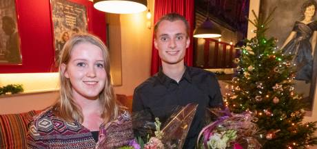 Miranda en Thijs winnen eerste verkiezing jonge vrijwilliger van het jaar