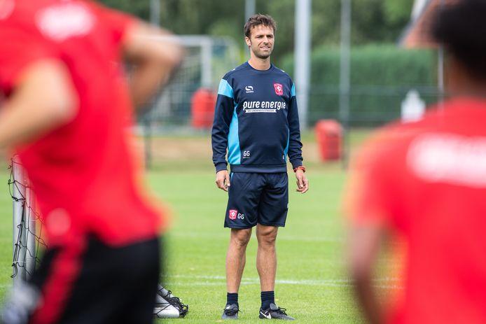 De nieuwe trainer Gonzalo García García.