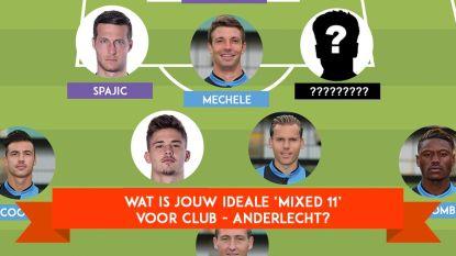 Kies zelf jouw ideale 'mixed 11' voor de topper!