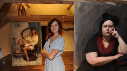 Dochter Anne De Baetzelier stelt kunstwerken tentoon in De Camme