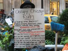 """2.000 personnes à la manifestation """"anti-Wall Street"""""""
