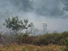 Kans op natuurbranden neemt toe door droogte, brandweer extra alert