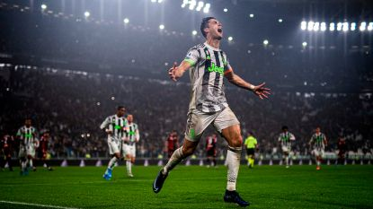 Ronaldo redt Juventus in blessuretijd tegen Genua