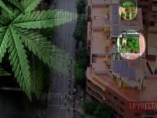 TV-helikopter bij Vuelta zet politie op spoor van wietplantages