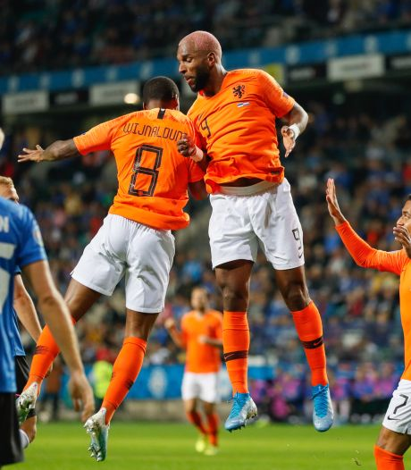 Oranje kent zorgeloze avond in Tallinn dankzij Babel en Memphis
