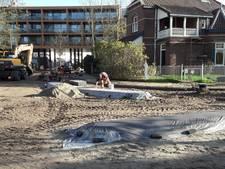Deel centrum van Rijen blijft zandbak