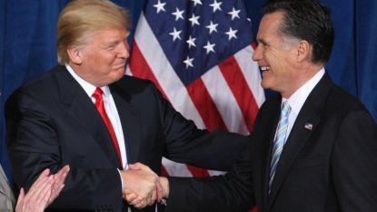 """Mitt Romney zal het volgend jaar niet opnemen tegen Trump, """"maar weet nog niet of ik hem zal steunen"""""""