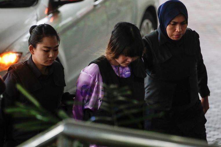 Verdachte Doan Thi Huong beweert dat ze dacht dat ze een aan televisieshow meewerkte.