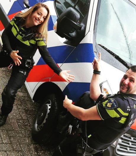Politie Veenendaal en Rhenen zoekt inwoners op met nieuwe wijkbus