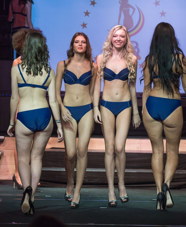 Voorstelling van de kandidaten Miss België' 2018 in de CarrŽé in Willebroek    PICTURES NOT INCLUDED IN THE CONTRACTS