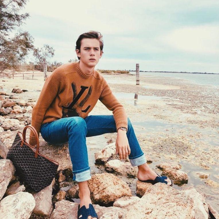 Conrad Janssens ambieert een modellencarrière.