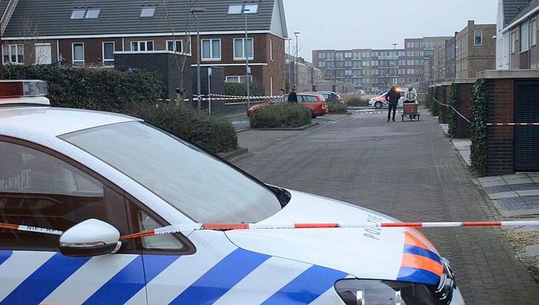 De Hendrik Marsmanstraat in Almere. Beeld Politie