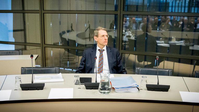 Jaap Uijlenbroek, directeur-generaal van de Belastingdienst in februari 2017. Beeld anp