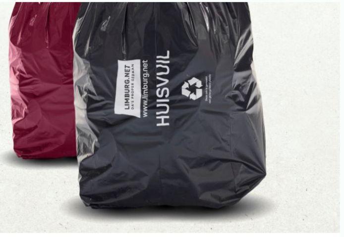De bordeaux zak kan nog worden gebruikt tot 31 december 2021.