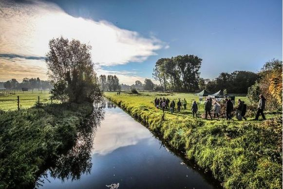 De Gaverbeek, in de Gaverbeekse Meersen