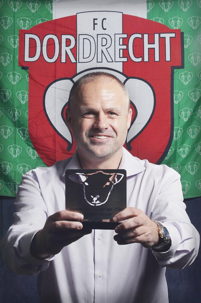 Marco Boogers won de verkiezing Dordtenaar van het Jaar 2014.