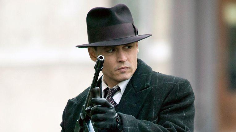 Johnny Depp in Public Enemies. Beeld